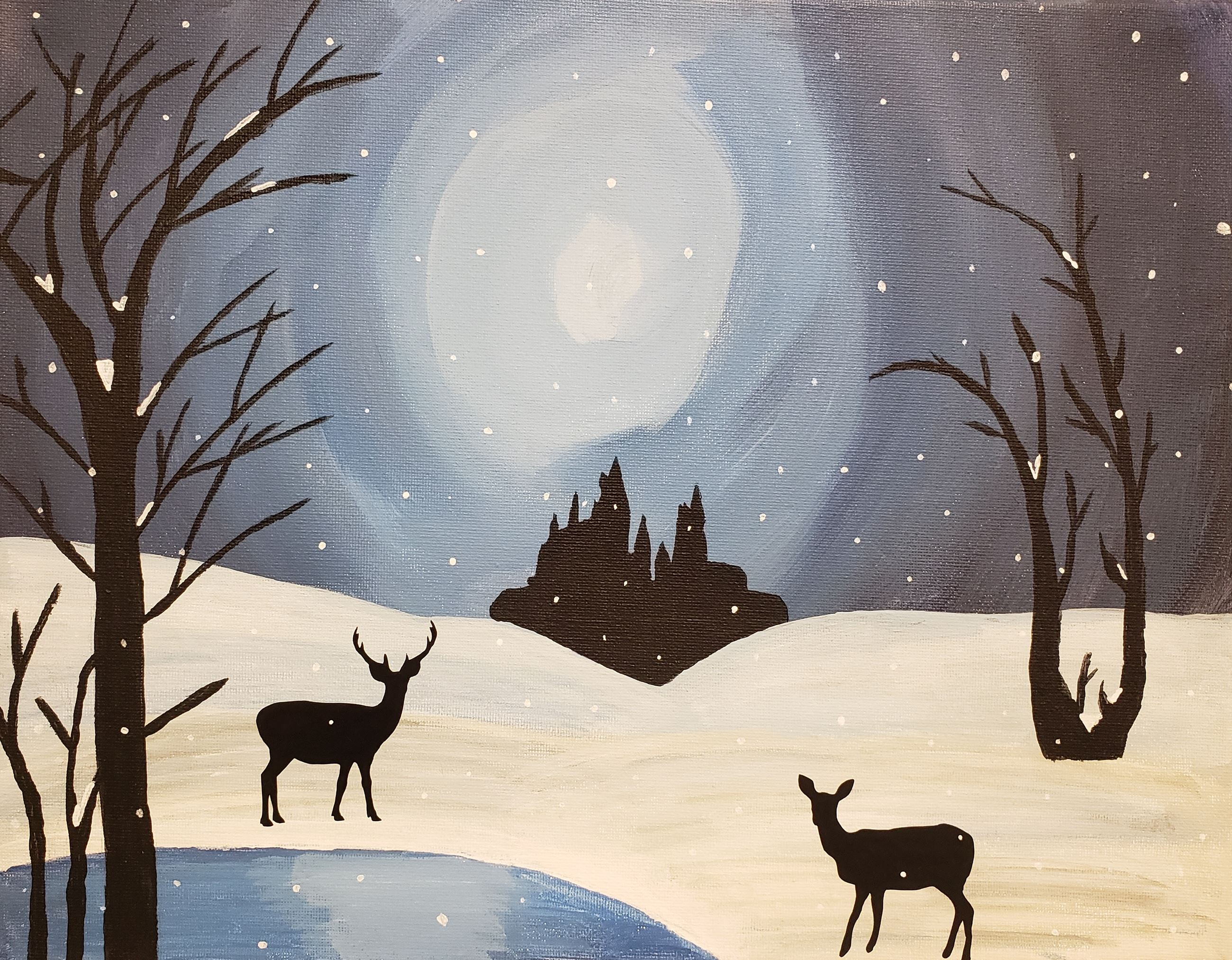 Image result for Adult paint night library