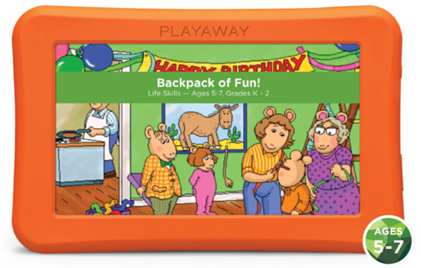 Backpack of Fun!