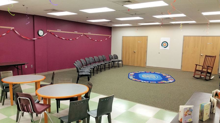 Youth Services Program Room
