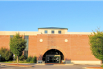 The front of the Statesville Main Library